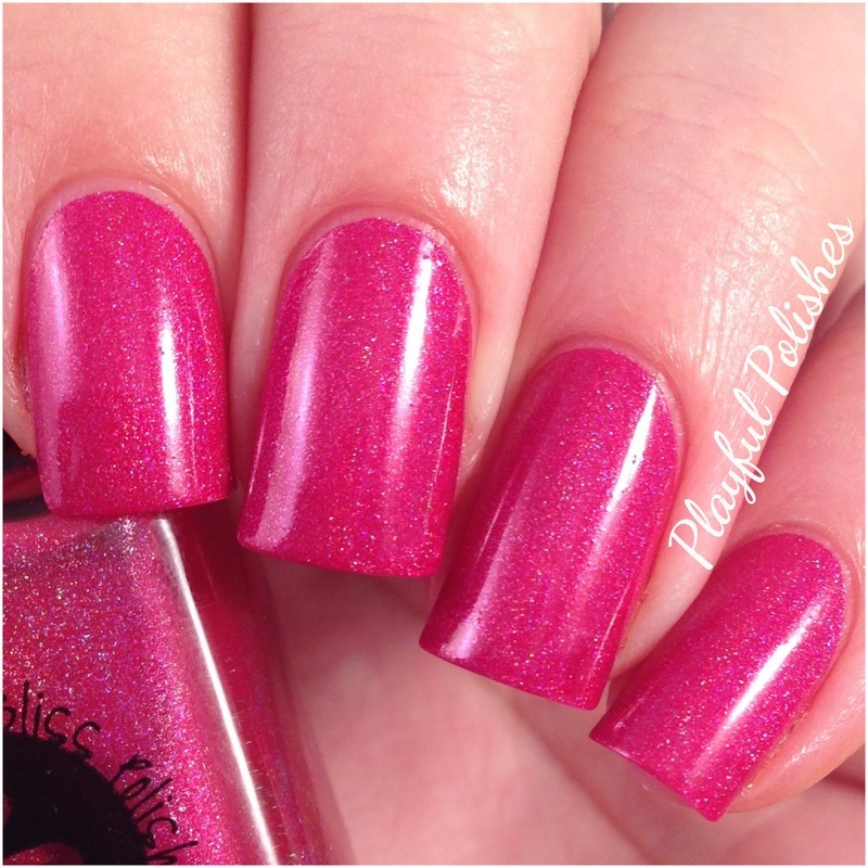 Bliss Polish This Is How We Do Swatch By Playful Polishes