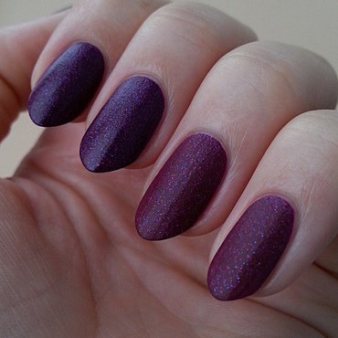 China Glaze Flying dragon and Salon Perfect Electric Grape Swatch by Mgielka M