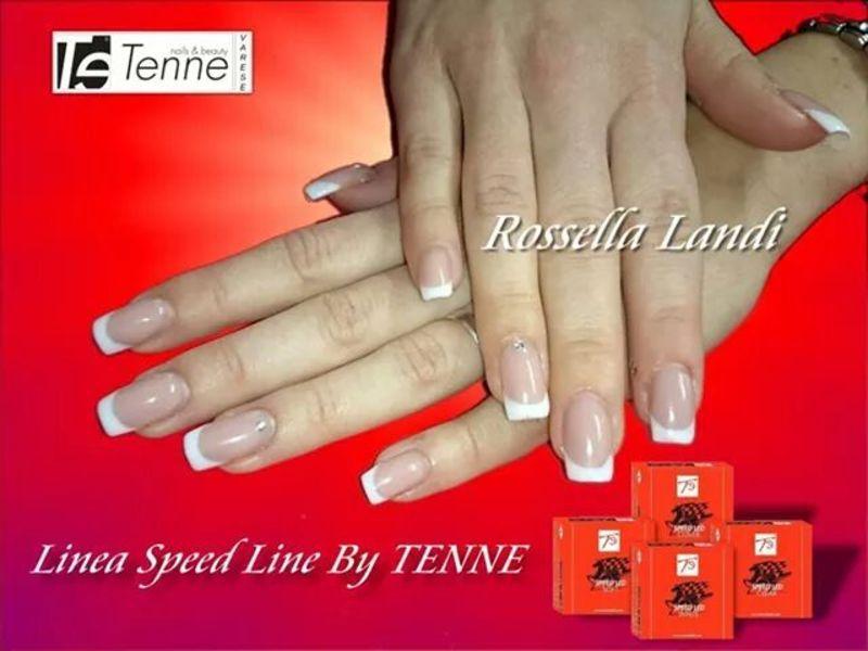 Elegant white Nails nail art by Rossella Landi