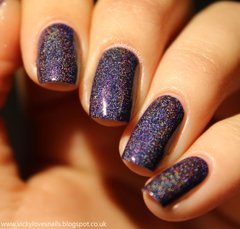 Freckles Polish The Seven Wonders Swatch by Vicky Standage