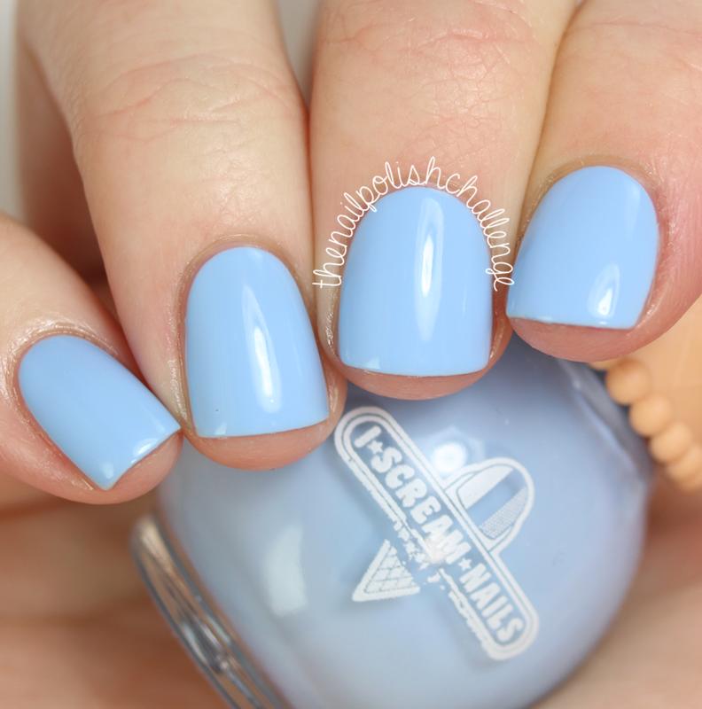 I Scream Nails Blue Heaven Swatch by Kelli Dobrin