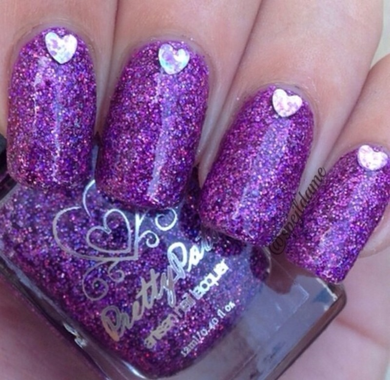 Pretty Pots Polish The Good Witch Swatch by Sparkly Nails by Spejldame