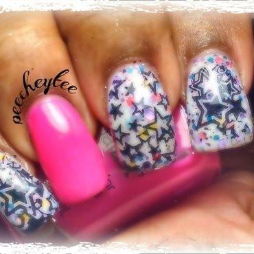 StArrS!! nail art by peecheytee