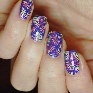 Colourful nail art by Yasinisi