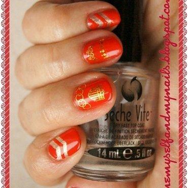 Royal nail art by ELIZA OK-W
