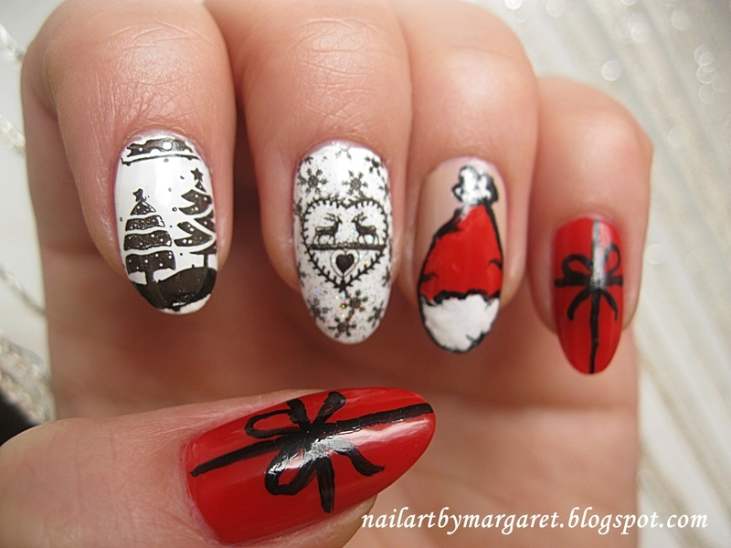 Prezencik nail art by Margaret Nail Art