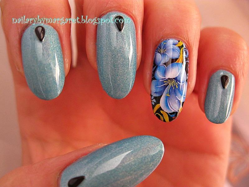 Naklejki Wodne nail art by Margaret Nail Art