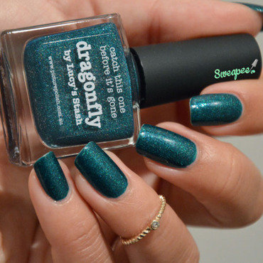 piCture pOlish Dragonfly Swatch by Sweapee