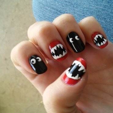 Halloween nails  nail art by Jamilla