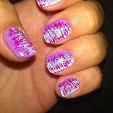 abstract  nail art by Jamilla