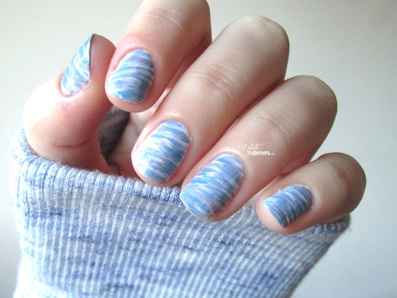 Sweet winters nails nail art by Estelle Heart
