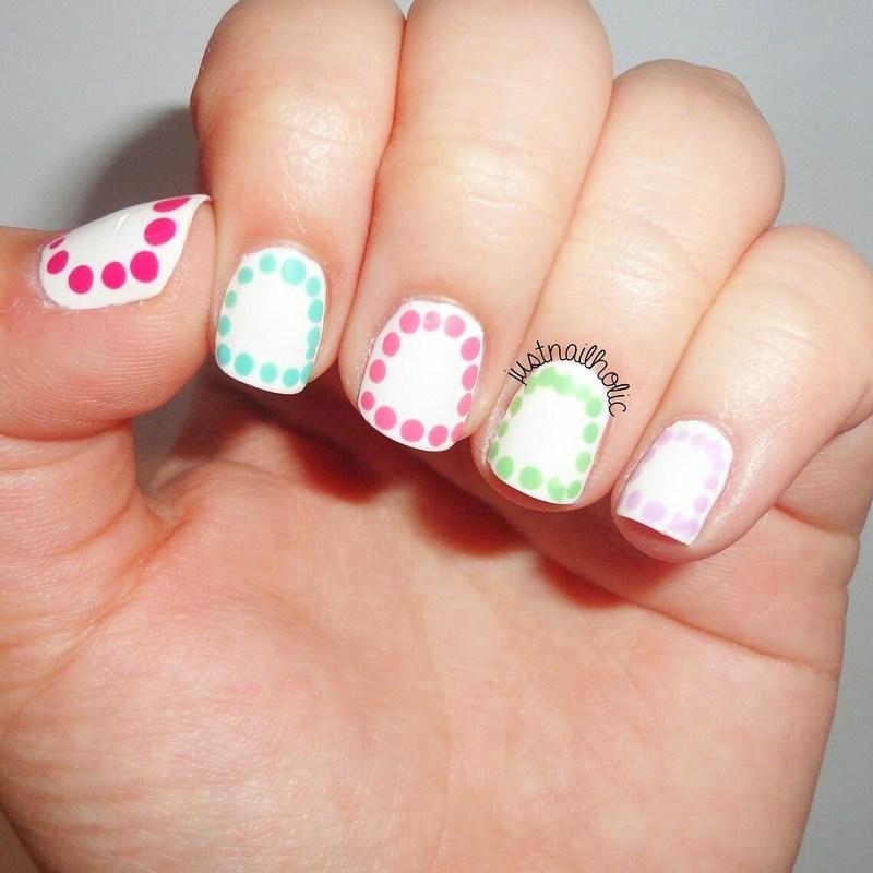 Dotticure nail art by Melany Antelo