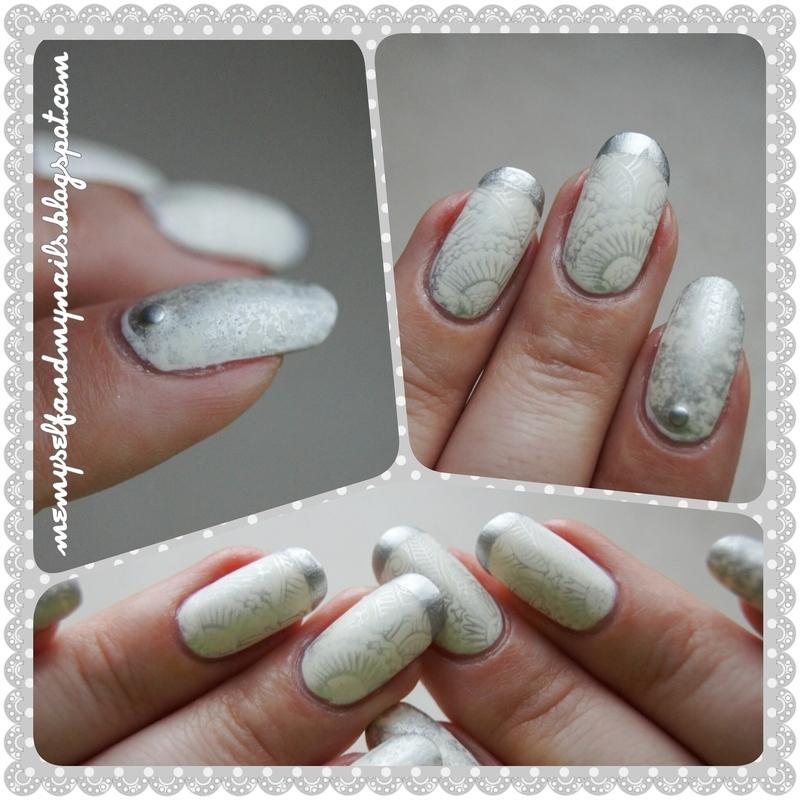 Winter wonderland nail art by ELIZA OK-W
