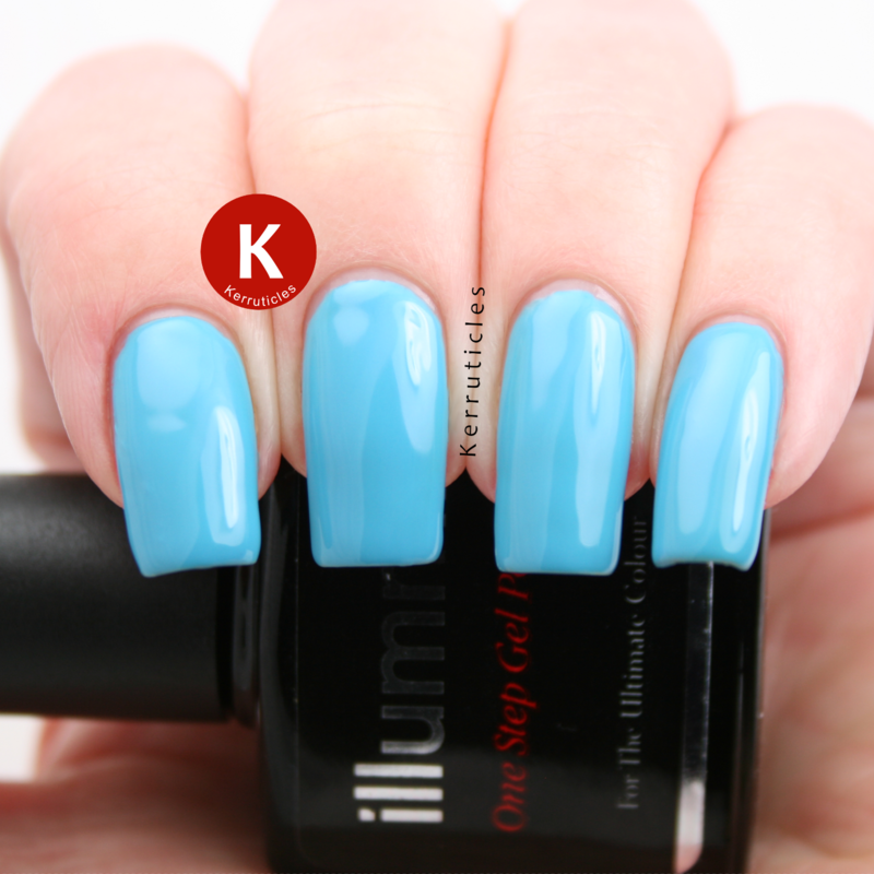 Illummi Blue Lagoon Swatch by Claire Kerr