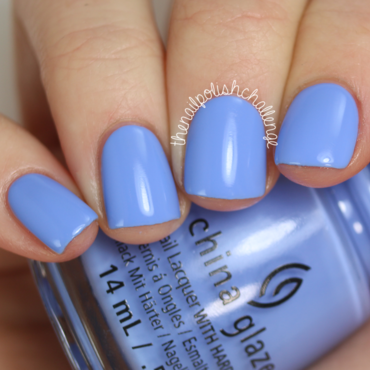 China Glaze Boho Blues Swatch by Kelli Dobrin