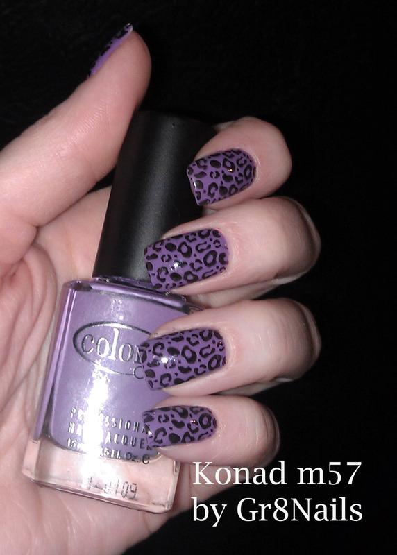 Leopard Print nail art by Gr8Nails