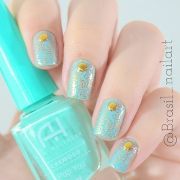 Pop You nail art by Brasil_nailart