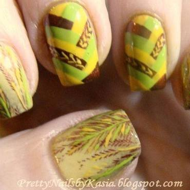 Harvest time nail art by Pretty Nails by Kasia
