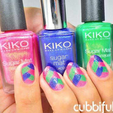 Kiko sugar mat polishes thumb370f