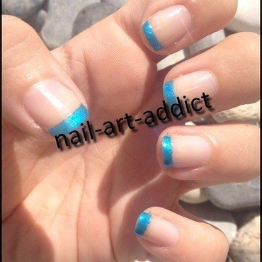 Nail Art : French Manucure Colorée nail art by SowNails