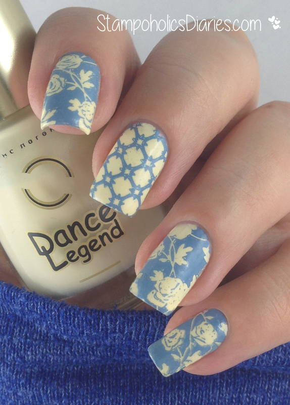 Floral Nails nail art by Natasha