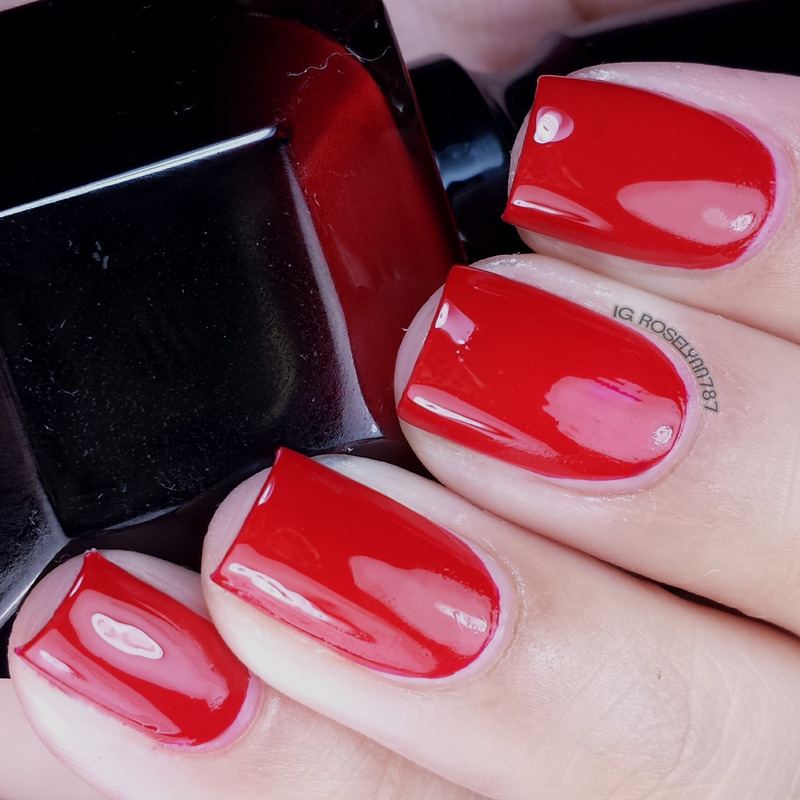 Christian Louboutin Rouge Louboutin Swatch by Rose Mercedes