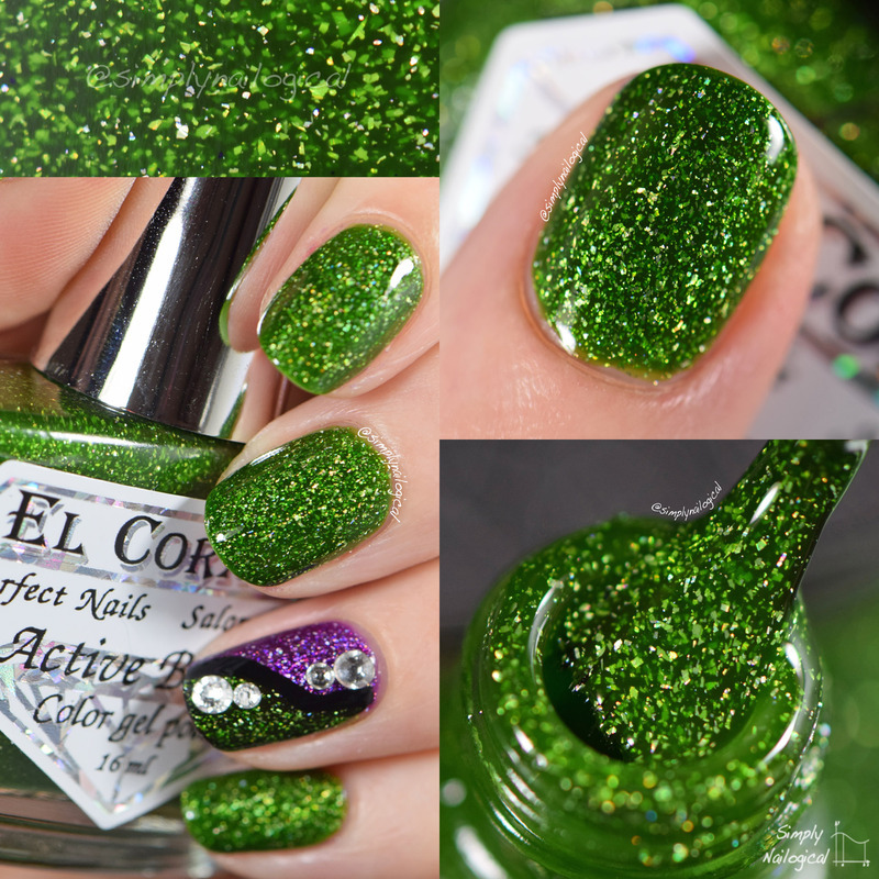 El Corazon Nymph Swatch by simplynailogical