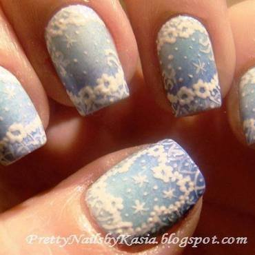 Winter Nails nail art by Pretty Nails by Kasia