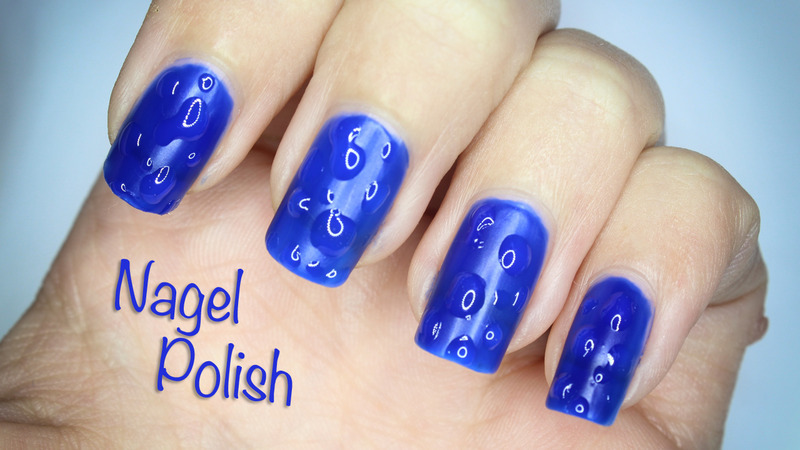 3D Raindrops Nail Art nail art by Nagel Polish