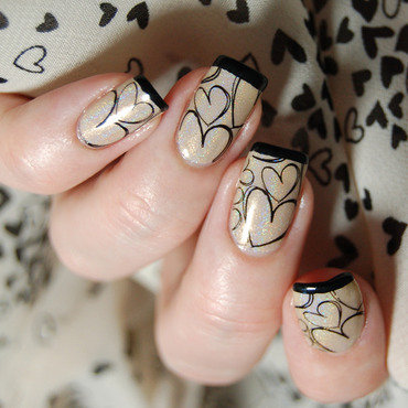 January Nail Art Challenge - Match OOTD nail art by Katie of Harlow & Co.