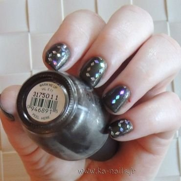 Nouvelle Année 2015 nail art by Ka'Nails