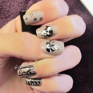 Pandas! <3 nail art by LittleNuclearReactor