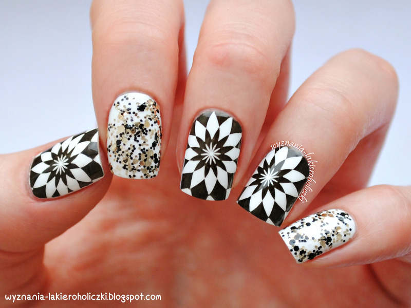 Fancy black white stamping nails nail art by born pretty fancy black white stamping nails nail art by born pretty prinsesfo Image collections