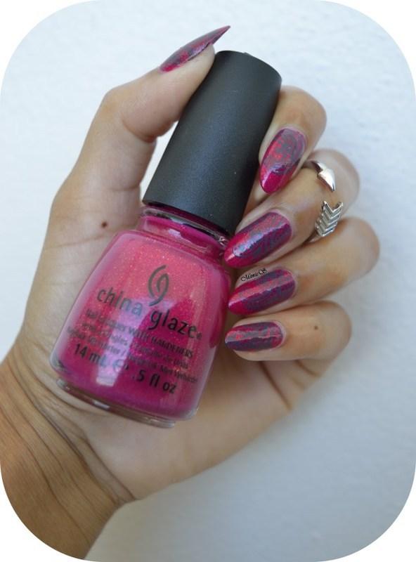 Oriental nail art by MimieS Nail