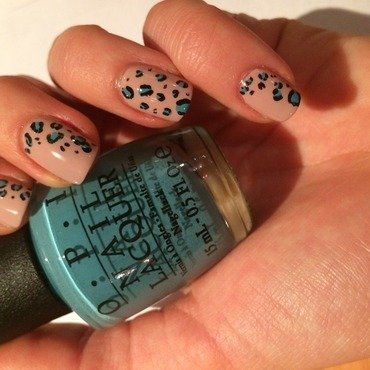 Leopard  nail art by SuperLouize