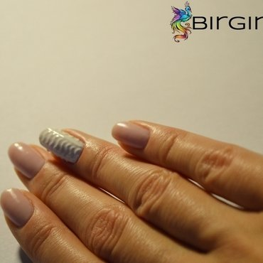 Sweater look nail art by Angelika Bogusz