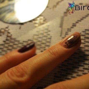 Stamping nails nail art by Angelika Bogusz