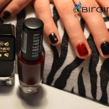Glam rock Nails nail art by Angelika Bogusz