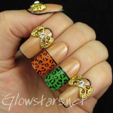Featuring Born Pretty Store 3D Bowknot Decoration nail art by Vic 'Glowstars' Pires