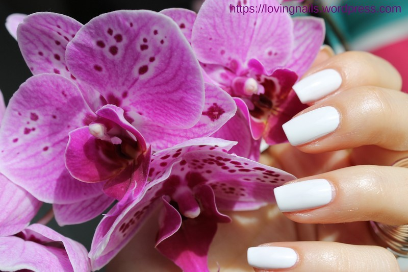 essie polish  by lovingnails nail art