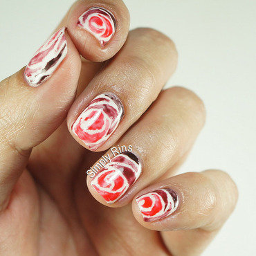 Love Never Fades nail art by Rina Alcantara