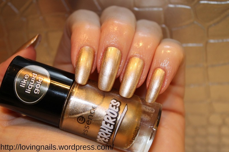 essence nailpolish nail art by lovingnails nail art