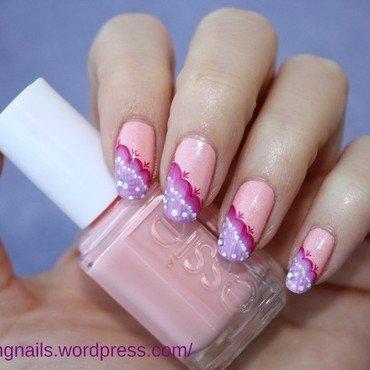 nail art jupe d ete ( tartofraises inspiration) nail art by lovingnails nail art