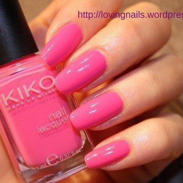 pink polish  nail art by lovingnails nail art