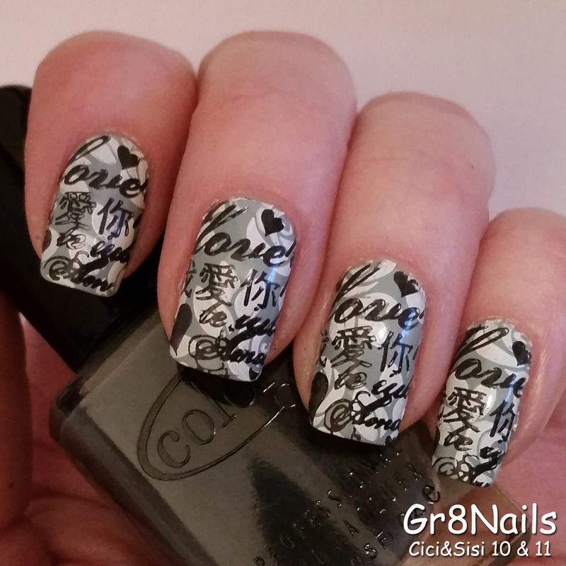 Love in Any Language nail art by Gr8Nails