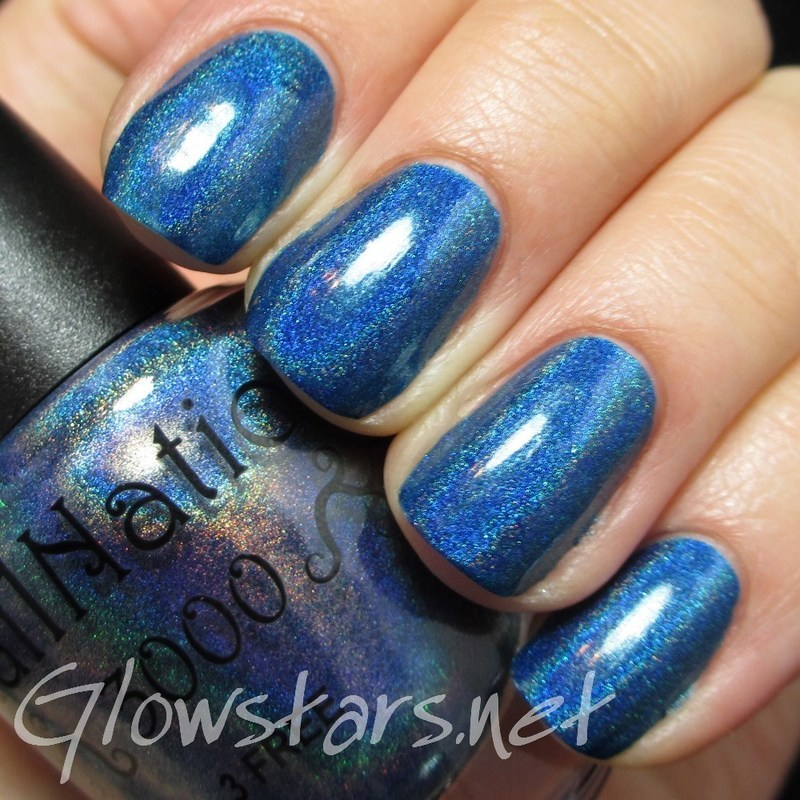 Nailnation 3000 Board Walk Empire Swatch by Vic 'Glowstars' Pires