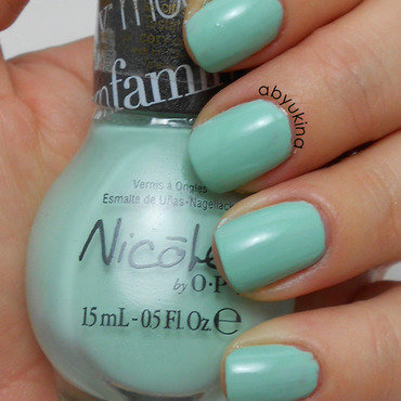 Nicole by OPI Alex by the Books Swatch by Aby