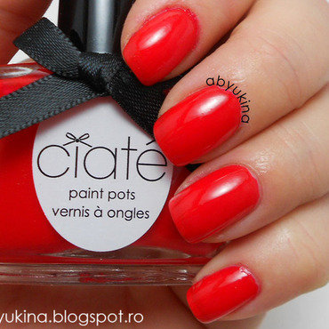 Ciate Mistress Swatch by Aby