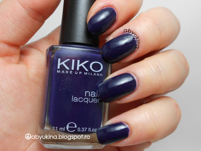 Kiko Royal Blue Swatch by Aby