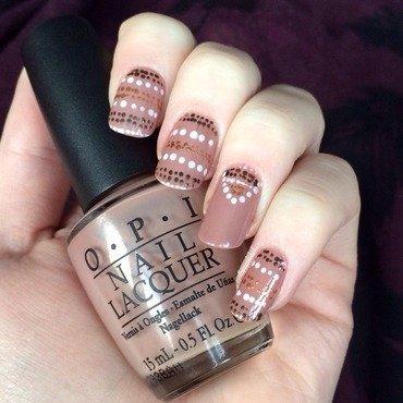Sweater Dotticure nail art by allwaspolished
